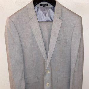 Extra Slim Express Grey Suit
